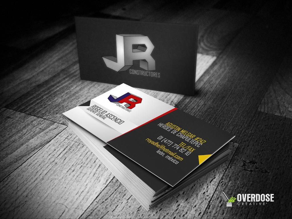 JR CONSTRUCTORES BUSINESS CARD