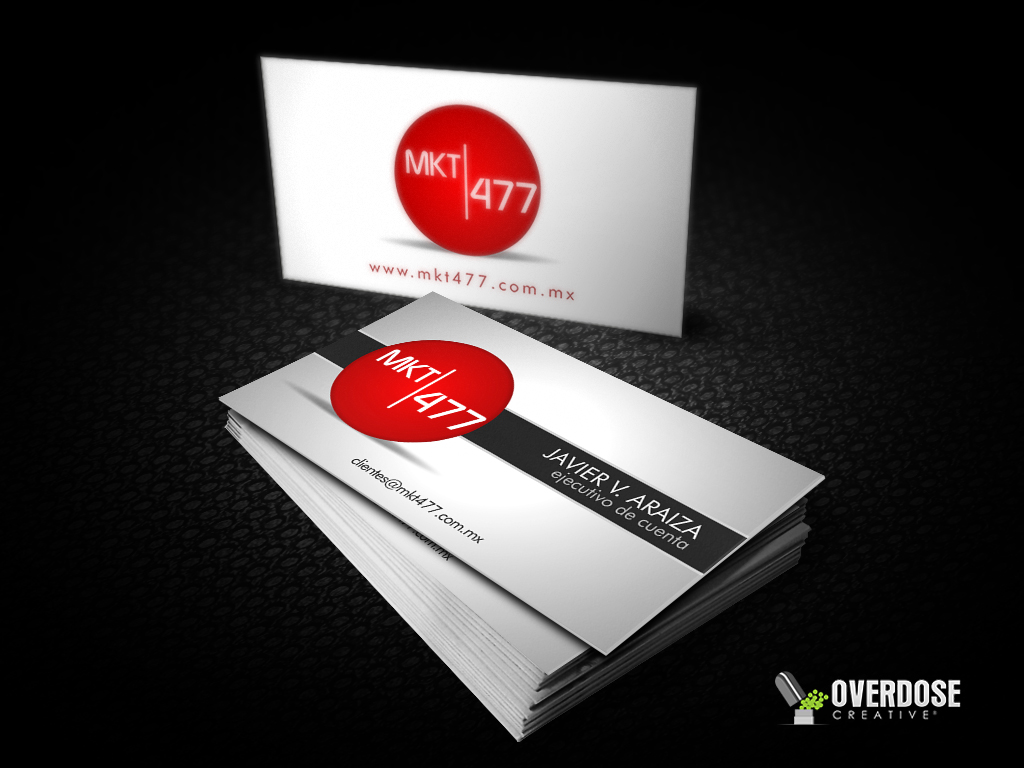 business card - mkt477